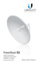Ubiquiti 5 GHz PowerBeam AC 620mm (PBE-5AC-620) - US Version